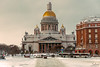 Saint Isaac's Cathrdral (Tony_Brasier) Tags: st petersburg russia raw road cathedral cars bluesky buildings location lovely lights fun nikond7200 1750mm bus sigma snow sky sun shops statues