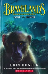 Code of Honor (Vernon Barford School Library) Tags: erinhunter erin hunter bravelands 2 two series animals animalstory animalstories adventure adventures africa baboons betrayal elephants lions monkeys primates vernon barford library libraries new recent book books read reading reads junior high middle school vernonbarford fiction fictional novel novels hardcover hard cover hardcovers covers bookcover bookcovers paperoverboard pob 9781338290264
