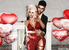 ♥ Happy Valentine My Wife ♥ (dumeric_asp) Tags: couple catwa bento st valentin amour love sl second life