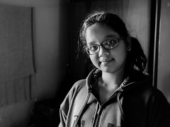 Loves everything chocolate (Sumitra Sarkar) Tags: calcutta india sister