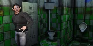Bathroom break,,   Next,