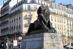 Paris - Lion de Belfort