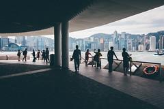 TST harbour (]vincent[) Tags: hk hong kong china asia people portrait selfie friend vincent keoshi sony rx 100 mk iv tst tsim sha tsui harbour victoria island ifc star boat river pearl ferry kowloon