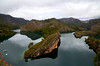 Bolarque (Oscar-Z4Design) Tags: lago reflection reflejo landscape pantano bolarque water river pinos nubes clouds barca