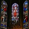 Église Saint-Merry à Paris (Denis Krieger) Tags: vitrail vitraux vitrais vetrata colorata glasmalerei farbfenster stained glass window