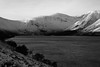 Glen Muick (steve_whitmarsh) Tags: aberdeenshire scotland scottishhighlands highlands winter snow ice lochmuick water loch lake bw monochrome