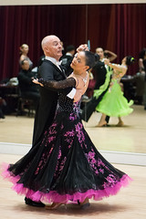 Purple and black (quinet) Tags: 2017 2018 britishcolumbia canada crystalballroom dancesport februarydancefest richmond tanzsport danse sportdedance vancouver 124