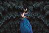 Entre misterios y sombras (Kathy Chareun) Tags: art arte ps photoshop lr lightroom dress vestido blue azul leaf nature naturaleza wall pared photography fotografia fineartphotography fineart shame verguenza pain dolor sufrimiento hair pelo skin piel day dia portrait autoretrato autorretrato retrato selfportrait green verde magic magia