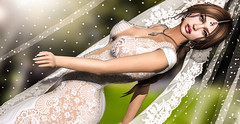 """I do"" (meriluu17) Tags: sense fabia bride wedding veil lace bright sweet oriental baby pose outdoor"