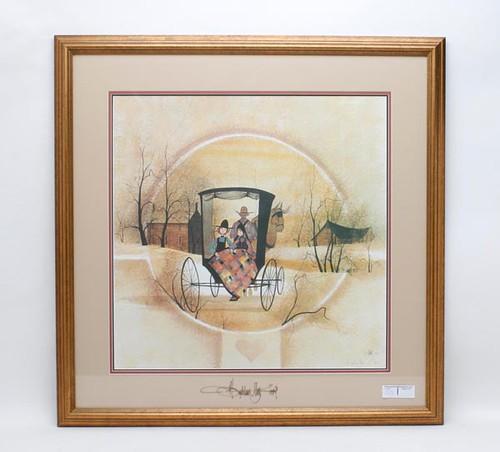 Framed Moss Print ($257.60)