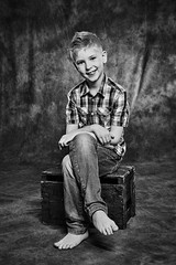 Young gentleman (LalliSig) Tags: gray brown kid kids portrait portraiture studio people iceland photographer barn börn barnamyndataka