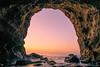Sea cave sunrise (aotaro) Tags: jogashima morning ship sunrise cave fe1635mmf4zaoss ilce7m2 dawn morningdawn seacave atdawn ocean kanagawa japan rocks beforesunrise