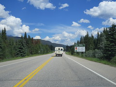 The fire danger is moderate here at Jasper National Park (jimbob_malone) Tags: 2017 highway16 alberta