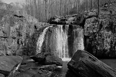 Rocks SP ~ Kilgore Falls (karma (Karen)) Tags: rockssp harfordco maryland mdstateparks kilgorefalls waterfalls bw mono hss cmwd topf25
