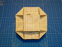 Rhombicuboctahedron (ISO_rigami) Tags: minecraft modular origami 3d a4 cube sid polyhedron rhombicuboctahedron eckhardhennig rectangular sidrco