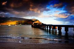 Hawaii_20100526_252 (TDW) (Shannon Cayze) Tags: beach canon5dmarkii canonef2470mmf28lusm hanaleibay hanaleipier hawaii kauai ocean pier sand shannoncayze sunrise water princeville unitedstates us