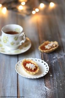 Crostatine con marmellata di mandarino e cannella 2