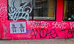 Graffiti. Lower Manhattan.   SABIO.RAMBO> (Allan Ludwig) Tags: graffiti lowermanhattan sabio rambo