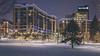 winter evening in midtown crossing - omaha III (laughlinc) Tags: omaha nikon1755mmf28 nikond7200 nikon winter midtowncrossing snow