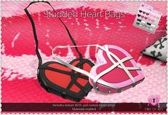Studded Heart Bag (Oriana Kuhr) Tags: dillydolls dd xoxo hunt mesh original accessory accessories kawaii cute fashion