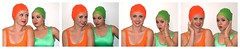 Bicolor swimmer in good talk (monotematico) Tags: orange green mujeres mujer mujerjoven malladenatación maillotdebain portrait person posing swimwear swimsuit swimmer nadadora nageuse naranja verde vert female femaleportrait femalemodel femme femenino fondoblanco duo dueto pose pair pareja couple dos par cap contraste coveredhead composition capped bathingcap badekappe badmuts bonnet swimcap swimmingcap swimhat headgear hat hairless head trajedebaño twowomen twotone two beauty beautiness beautiful bathingbeauty secuencia sesión studio sequence whitebackground women bañador badeanzug bathingsuit estudio indoor interior blanco expresión colores colours bicolor