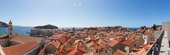 Dubrovnik Panorama (Zlatko Unger) Tags: dubrovnik hrvatska croatia walls citywalls