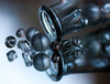 escape from the bottle (marinachi) Tags: macromonday inabottle mirror bottle beads grey glass sundaylights