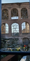 Windows of the MAxentius Basilica - Roman Forum - February 2018 (Kevin J. Norman) Tags: italy tome roman rome forum maxentius basilica