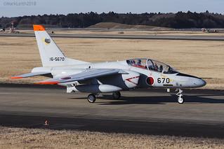 Japan Air Self Defence Force, Kawasaki T-4, 16-5670.