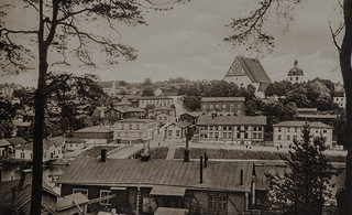 The medieval city of Porvoo in the 1920s