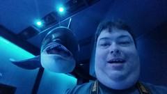 Selife with an Orca (Adventurer Dustin Holmes) Tags: 2018 wondersofwildlife basspro dustinholmes adventurerdustinholmes dustinkholmes people selfie killerwhale