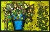 Vaso con fiori su fondo giallo - Febbraio-2018 (agostinodascoli) Tags: fiori vaso vasoconfiori texture nature colore fullcolor creative art digitalart digitalpainting photoshop photopainting agostinodascoli cianciana sicilia impressionismo