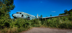 Douglas C-47 (LaR0b) Tags: ue urban urbex exploring exploration decay abandoned lar0b lost hdr highdynamicrange plane airplane fly sky transport rusty airbase željava military douglas c47