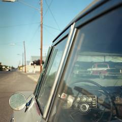 W. San Antonio St. Marfa, TX 79843 (Terrorkitten) Tags: 6x6 bebbington colour c41 film marfa tx filmisnotdead hasselblad hsslbld philbebbington square terrorkitten wsanantoniost westtexas kodakektar usa us roadtrip americana us90 501cm planar 80mm 121001ektar005011