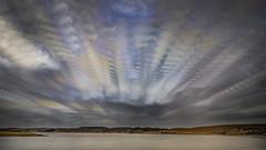 Cloud Stack (eilidhwatson) Tags: landscape storm colour winter clouds imagestack timestack scotland