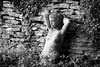 Fragile nude (Ramireziblog) Tags: terracotta babe fragile nude nature posing naakt wall muur stones stone poseren canon 6d tuin garden