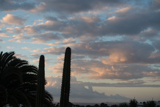 Sunrise, Lanzarote, Canary Islands, Spain