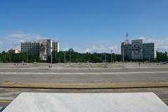 Plaza de la Revolución, La Habana, Cuba (rlatinq) Tags: cuba habana plaza revolución che guevara camilo cienfuegos fidel plazadelarevolucion havana lahabana caribe isla