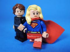 Danvers Sisters (-Metarix-) Tags: lego super hero minifig dc comics comic supergril kara danvers alex cw tv show