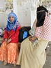 Bangladesh-Dacca-Kamalapur railway station - little young beauty and her mother (Damir-D) Tags: hijab veil girl smile