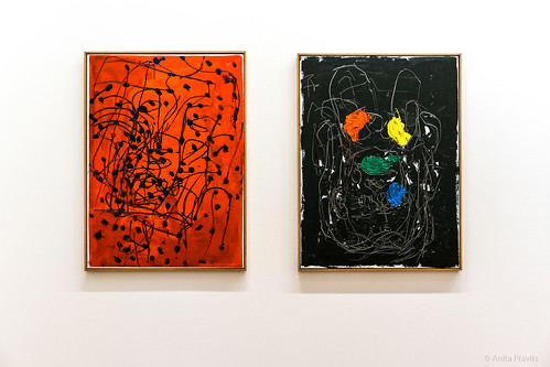 Georg Baselitz: Ede, 1993. Lena, 1992