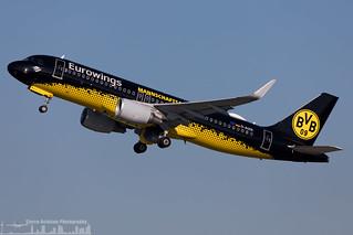 D-AIZR Eurowings Airbus A320-214(WL) (DUS - EDDL)