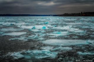 Ice on Owen Sound