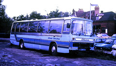 Slide 114-40 (Steve Guess) Tags: woking guildford surrey england gb uk coach steves coaches duple bedford yrt dominant