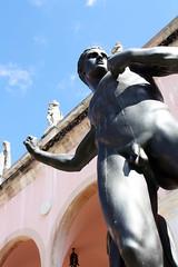 In the Garden (ktmqi) Tags: ringlingmuseum florida artmuseum collection art sculpture classicsculpture bronze man nude