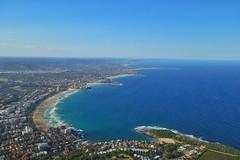 Manly beach from above (Sam-Henri) Tags: australia sydney manly beach heli sydneyhelitours sky bay blue water