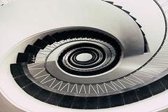 Turning Point I (**capture the essential**) Tags: 2017 architecture architektur fotowalk munich münchen sonya6300 sonyilce6300 spiral staircase stairs treppen treppenhaus zeisstouit2812 zeisstouitdistagon2812