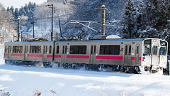 JR EAST 701-N35 series 002 (A.S. Kevin N.V.M.M. Chung) Tags: 701series jr east jr東日本 大張野 奧羽本線 ou main line train transport snow rail railway localtrain