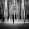 strasbourg ethereal (laurent samuel) Tags: strasbourg a7rii canon 40mm abstract bw cathédrale winter morning mouvement