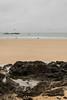 Sable et Roche (Hugo_Tual) Tags: sea mer malo saint bretagne plage britany beach water grey eau surf